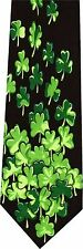FALLING CLOVER ST PATRICK'S DAY  NEW NOVELTY TIE