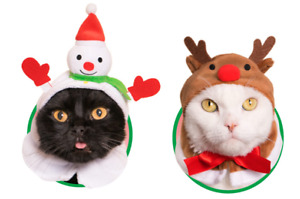 [Kitan Club] Gacha Christmas Cat Hat (Set of 2)