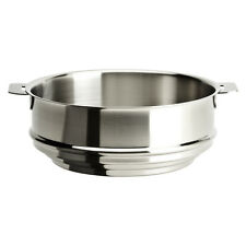"""Cristel Strate Removable Handle - 9.5"""" Universal Steamer"""