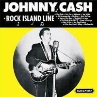 "JOHNNY CASH ""ROCK ISLAND LINE"" LP VINYL NEW!"