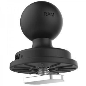 RAM Mount 1 inch Plastic Ball Track Base with T-Bolt Attachment RAP-B-354U-TRA1