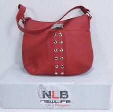 VINTAGE Nine West Shoulder bag W/ Front Button Pocket & Studs 8x10