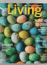 Martha Stewart Living - March 2016 - Speckled Eggs, Brighter Breakfast, Flowers