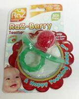 Razbaby Razberry Raz-Berry Silicone BPA-Free Baby Pacifier Teether Gum Soother