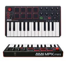 AKAI MPK MINI MKII tastiera keyboard controller midi usb 25 tasti 2 ottave NUOVO