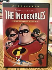 The Incredibles (Dvd, Widescreen) - (Amazing Dvd In Perfect Condition!Disc And C