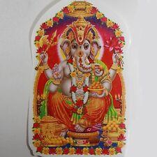 Pegatina Adhesiva 2x Ganesh Goa India Hippie god-stickers Puja OM 11 x 7cm 29