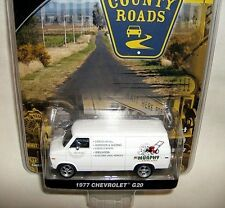 greenlight 1/64 county 1977 CHEVY G-20 SERVICE VAN-wht