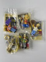The Simpsons Movie Burger King Toy Lot Of 5 2007 Brand New