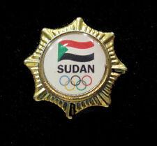 2016 RIO Rare Olympic SUDAN NOC STAFF Limited NOC gold star Und pin