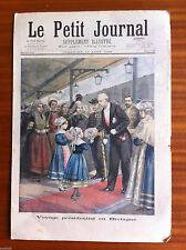 ?Le petit Journal 23/8/1896; Voyage présidentiel en Bretagne