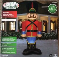 BIG GEMMY XMAS AIRBLOWN INFLATABLE TOY SOLDIER NUTCRACKER 12 ft Brand New In Box