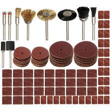 "150pcs Rotary Multi Tool Bit Set  Fits 1/8"" Shank Sanding Polish Accessory Bit"
