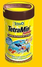 TetraMin Junior 100 ml Premium Fischfutter für Jungbrut ab 1 cm reich an Protein