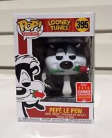 PEPE LE PEW #395 Looney Tunes Funko POP! SDCC 2018 Summer Convention w/PROTECTOR
