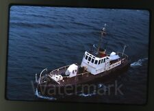 1964 kodachrome photo slide Pilot boat ship     St. Lawrence