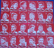 PANINI EM EURO 2016 COCA COLA Sticker tutti 24 speciali Sticker RAR