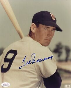 Ted Williams (HOF) Signed and Authenticated (JSA) 8x10 Photo -Full Certificate