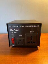 Step Up & Down Transformer LiteFuze VT-500 (220V to 110v)