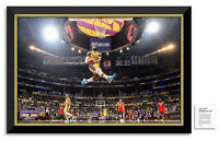 Lebron James 2020 NBA Finals MVP Facsimile Signed Los Angeles Lakers Canvas™