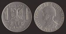 ALBANIA ITALIANA 2 LEK 1939 ANTIMAGNETICA - VITTORIO EMANUELE III