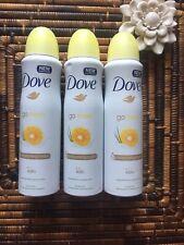 Dove Grapefruit & Lemongrass Scent Aerosol Anti-Perspirant 150ml Pack Of 3
