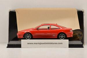 PEUGEOT 406 COUPÉ 1997 RED GTS 1/43 NEUF EN BOITE (MONTAGE USINE)
