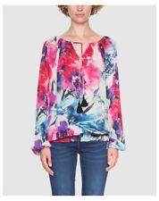 Maglie e camicie da donna Blusa floreale sintetico