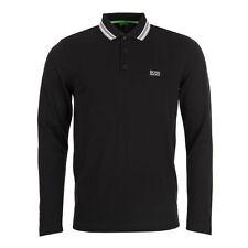 HUGO BOSS Men's No Pattern Long Sleeve Casual Shirts & Tops