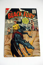 BLACK FURY #38 COMIC FROM 1962 U.S.A - CHARLTON COMICS - NICE COPY