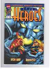LOT MARVEL HEROES (2001) 1 2 3 4 7 9 11 14 15 17 18 20 21 22 23 24 25 27 28 36