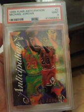 1995 Fleer Flair Anticipation Michael Jordan #2 PSA 9 MINT. Chicago Bulls. GOAT