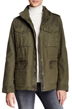 NWT Women's Levi's Quilted Yoke Military Jacket ~ Olive Green ~ Size Large  $180