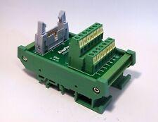 IDC-14 Male Header Breakout Board Screw Terminal Adaptor DIN rail mounting