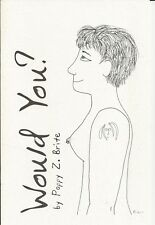 Would You? by Poppy Z Brite - Signed Chapbook