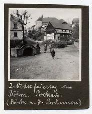 Foto Böhmisch Pockau Pokau 1928 Birke am Brunnen bei Aussig Pömerle Český Bukov