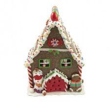 Gisela Graham Illuminare Pan Di Zenzero Casa - Festive Pre Decorazione Natale
