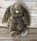 "Jellycat Bashful Woodland Bunny Medium 12"" Plush Soft Toy"
