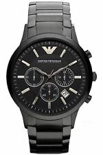 NUOVO EMPORIO ARMANI Uomo Cronografo Classico Watch AR2453 100% ORIGINALE
