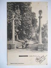 """CPA """"Pont A Mousson - Jardin d'Amour"""""""