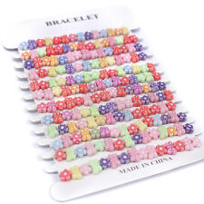 12 x GIRLS YUMMY PARTY BAG Fillers BRACELETS Gifts favours Filler Princess 12P