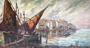 Joseph HURARD (1887-1956),Huile sur toile. v571