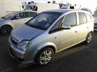 Vauxhall Meriva A 2009 z14xep passenger door glass ,Full car breaking also