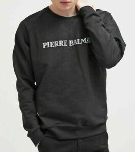 Pierre Balmain Iconic LOGO Sweatshirt Jumper Sweater Hoody Jumper Pullover