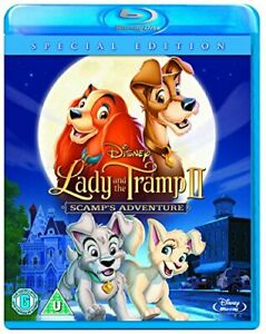 Lady and the Tramp 2: Scamps Adventure [Blu-ray] [Region Free] [DVD][Region 2]