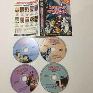 A Night at the Movies 10 Movies 4 DVD FREE TRACKED POST