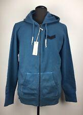 Diesel S-D-P Mens Sweatshirt Cotton Blend Zip Front Closure Sweater Size L (G63)