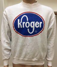 Vintage Kroger 50/50 Crewneck Sweatshirt USA Made FOTL Size Large