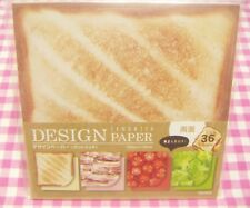 KYOWA Sandwich 4 Design Print Paper Japan Stationery Bread Bacon Tomato Lettuce