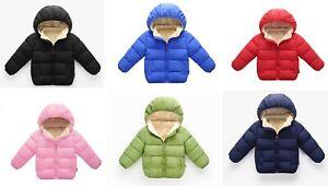 Baby Infants Puffer Coat Boy & Girl Warm Winter Jacket